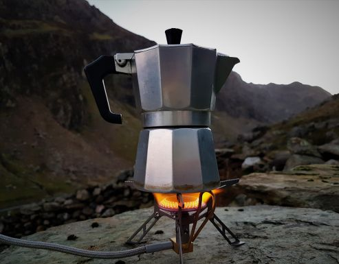 A coffee addicts guide to making the perfect brew in the mountains.