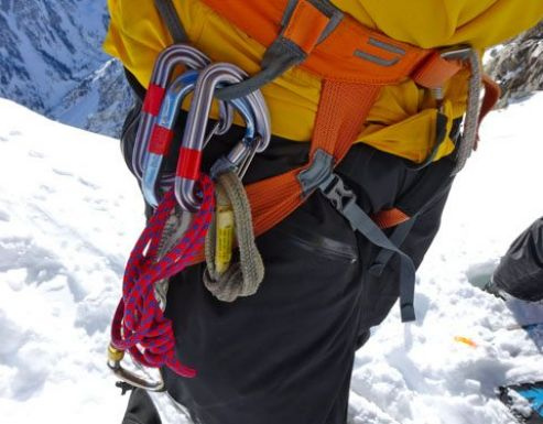 Buying your first climbing harness.