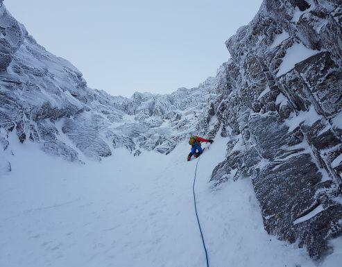 2018 Winter Climbing In Scotland